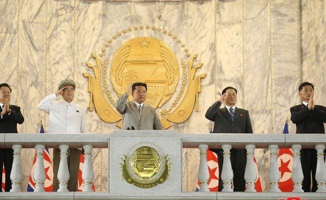 Kim Jong Un, Trim And Tan After 20 Kg Weight Loss, Seen At Parade