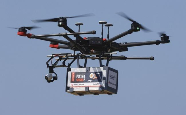 Drones Deliver Beer, Sushi And Ice Cream In Israel