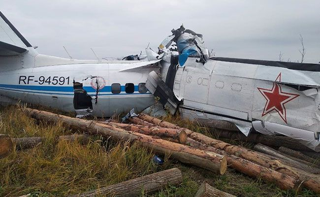 16 Feared Dead After Plane Crashes In Russia