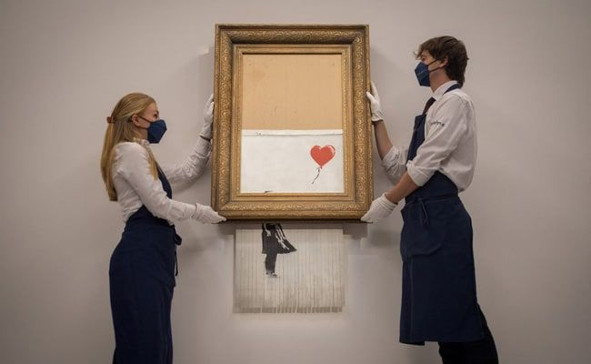 Shredded Banksy Canvas Sells For Record $25.4 Million In London