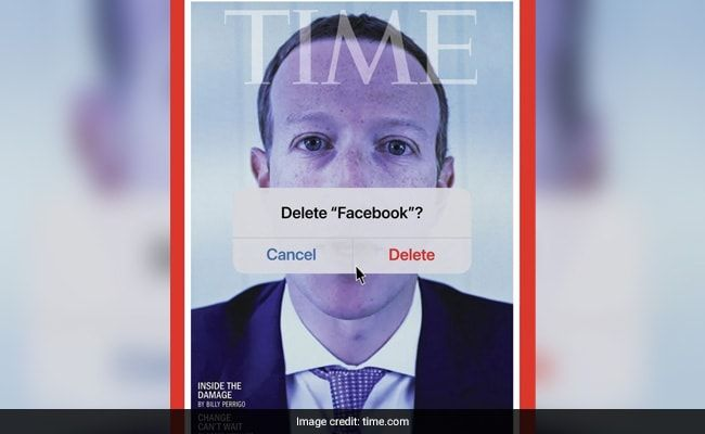 'Delete Facebook?' TIME Cover Ft. Zuckerberg Amid Profits Over Safety Charge