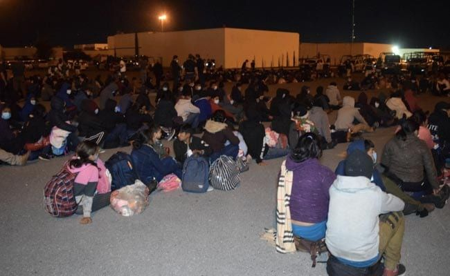 Hundreds Of US-Bound Migrants Found Packed In Trucks In Mexico