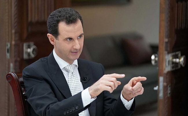 Syria's Assad Takes Oath For Fourth Term After Criticised Re-election