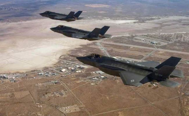 US Fighter Jet Crashes After Collision With Refueling Plane