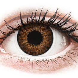 Air Optix Colors - Brown - Διοπτρικοί Μηνιαίοι φακοί επαφής (2 φακοί)