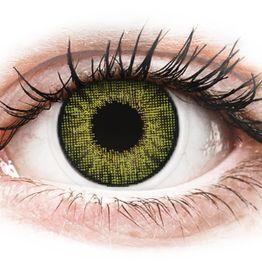 Air Optix Colors - Gemstone Green - Διοπτρικοί Μηνιαίοι φακοί επαφής (2 φακοί)