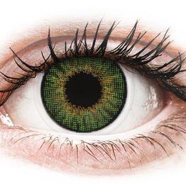 Air Optix Colors - Green - Διοπτρικοί Μηνιαίοι φακοί επαφής (2 φακοί)
