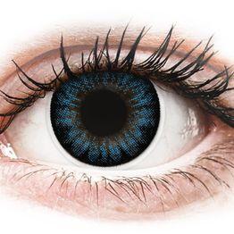 ColourVUE BigEyes Cool Blue - Διοπτρικοί Τριμηνιαίο φακοί επαφής (2 φακοί)