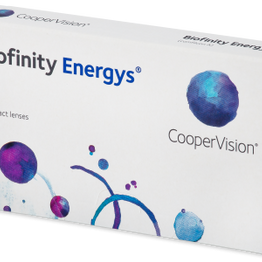Cooper Vision Biofinity Energys 3 Μηνιαίοι Φακοί Φακοί επαφής για ύπνο Μυωπίας Υπερμετρωπίας