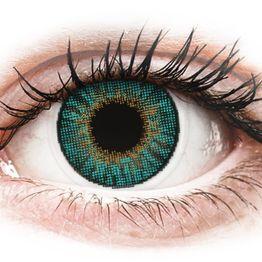 Air Optix Colors - Turquoise - Διοπτρικοί Μηνιαίοι φακοί επαφής (2 φακοί)