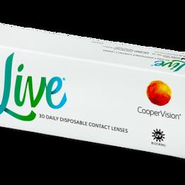 Live Daily Disposable (30 φακοί) ημερήσιοι διοπτρικοί φακοί επαφής