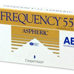 Frequency 55 Aspheric Μηνιαίοι (6 Φακοί)