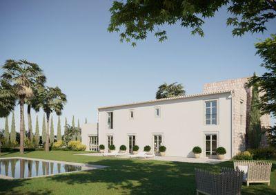 Grandiose  Neubau-Landvilla eingebettet in Pollensa s prachtiger Landschaft