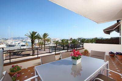 Wohnung in erster Meereslinie mit fantastischem Meerblick in Puerto Pollensa
