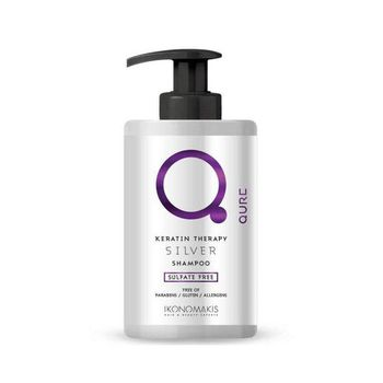 Qure Keratin Therapy Silver Shampoo by ikonomakis 300ml