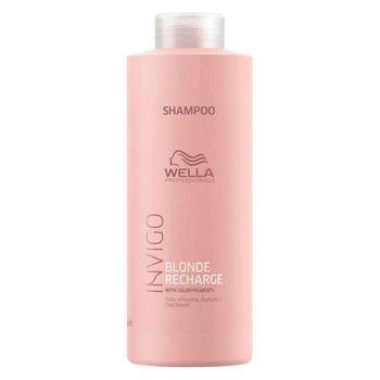 Wella Professionals Invigo Blonde Recharge Color Refreshing Shampoo 1000ml