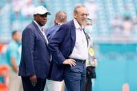Questions for Miami Dolphins' GM Chris Grier