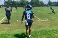 Eagles Rookie Minicamp Notes: First look at DeVonta Smith