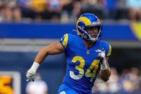 Rams-Giants injury recap: Jake Funk leaves game, doesn't return