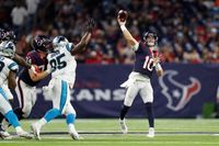 Incompletions: Texans v. Panthers