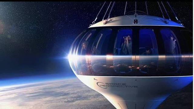 Want to travel to outer space with air balloons? Prepare Rp1, 8 Billion