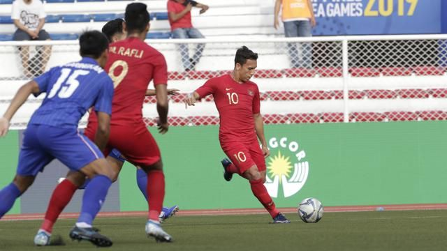 Indonesian national team U-22 vs Thailand