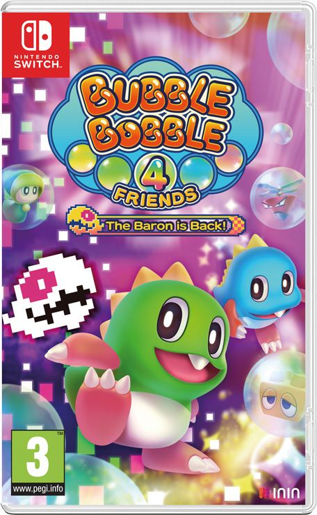 Bubble Bobble 4 Friends Switch NSP XCI