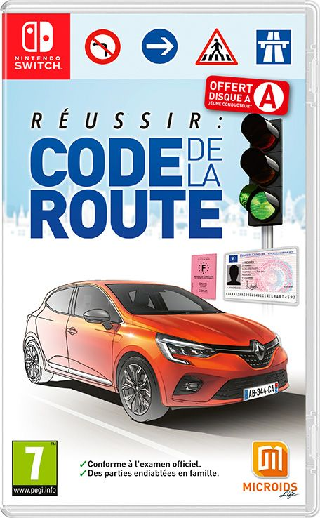 Réussir : Code de la Route Switch XCI