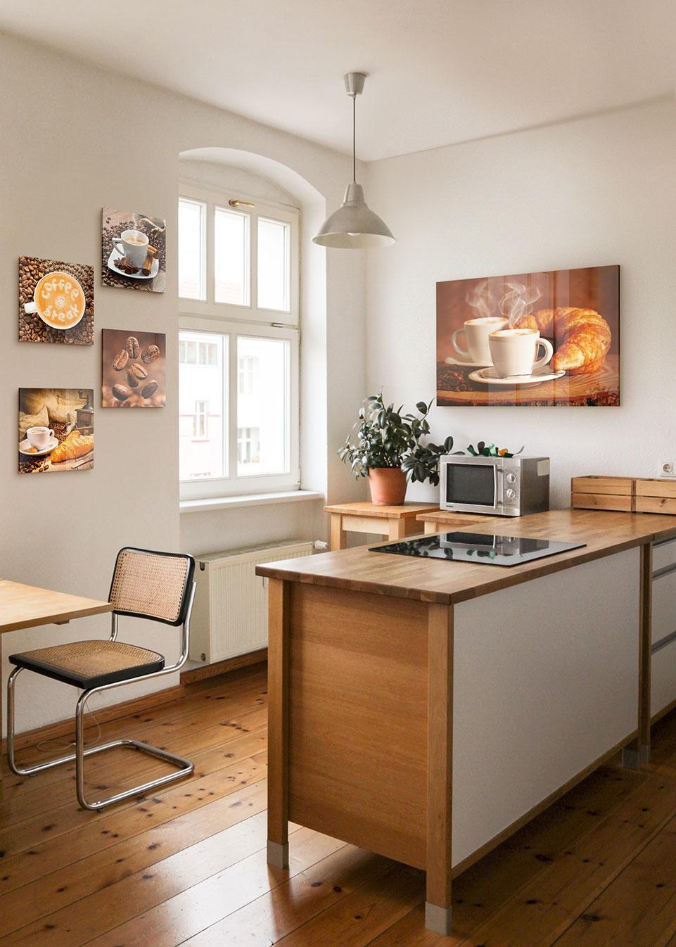 Glasbilder Küche