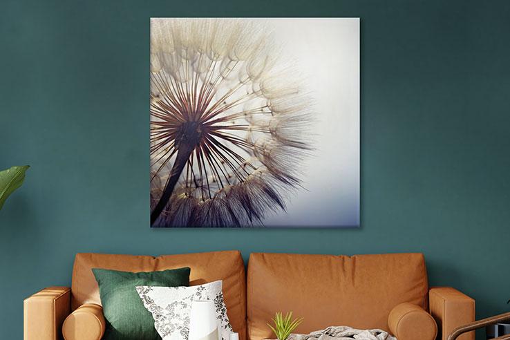 Glasbilder Blumen