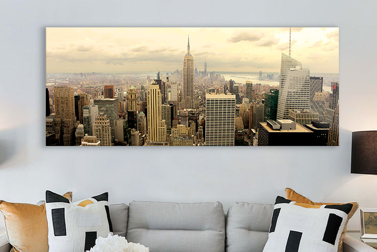Glasbilder von New York