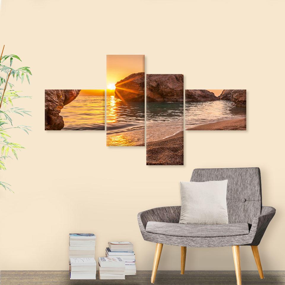 Mehrteilige Wandbilder
