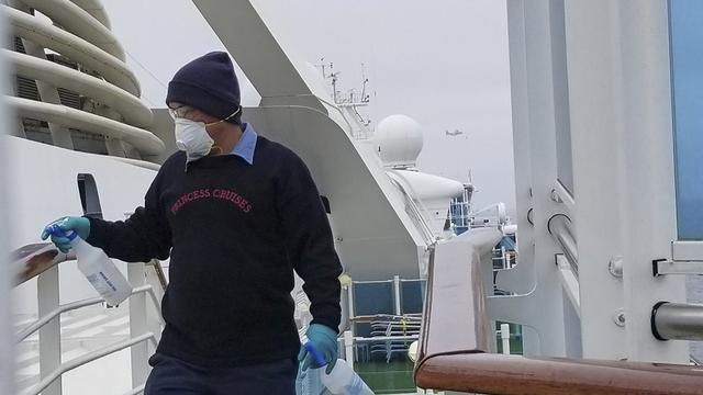 The Grand Princess cruise ship was cleaned on March 5, 2020 to be aware of the Corona Virus.