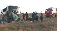Арестованы перевозчик и владелец автобуса, столкнувшегося с «Камазом» в Калмыкии