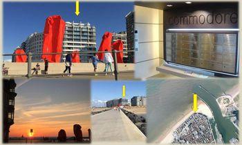 Oostende - Apt 2 Slpkmrs/Chambres - Albert I-promenade