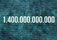 Zahl des Monats Juli: 1,4 Billionen Euro