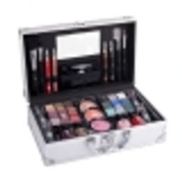 2k Fabulous Beauty Train Case Makeup Palette 66,9gr Combo: Complete Makeup Palette