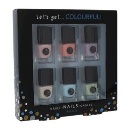2K Let'S Get Colourful! Pastels Nail Polish 6 X 5ml
