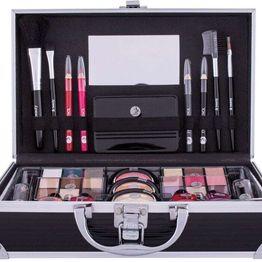 2k Fabulous Beauty Train Case Black Makeup Palette 66,9gr