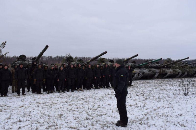 Танкові резерви провели тактичні заняття (фото)