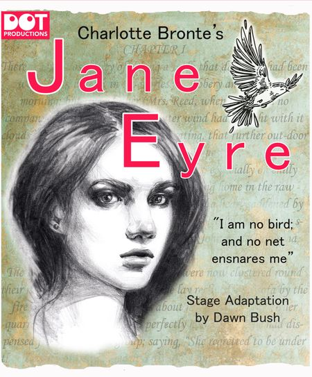 poster or flyer advertising event Open-air theatre: Jane Eyre