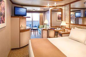 Princess Cruises Ruby Princess Accommodation Mini Suite with Balcony.jpg