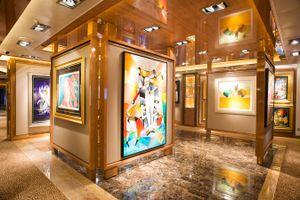 Princess Cruises Royal Class Interior art gallery.jpg