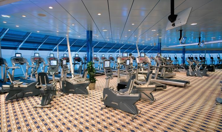 Royal Caribbean International Independence of the Seas gym.jpg