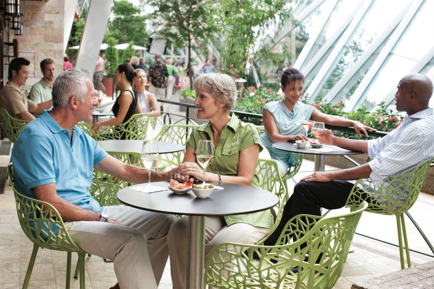 Royal Caribbean International Oasis of the Seas Interior Central Park Vintages 049.jpg