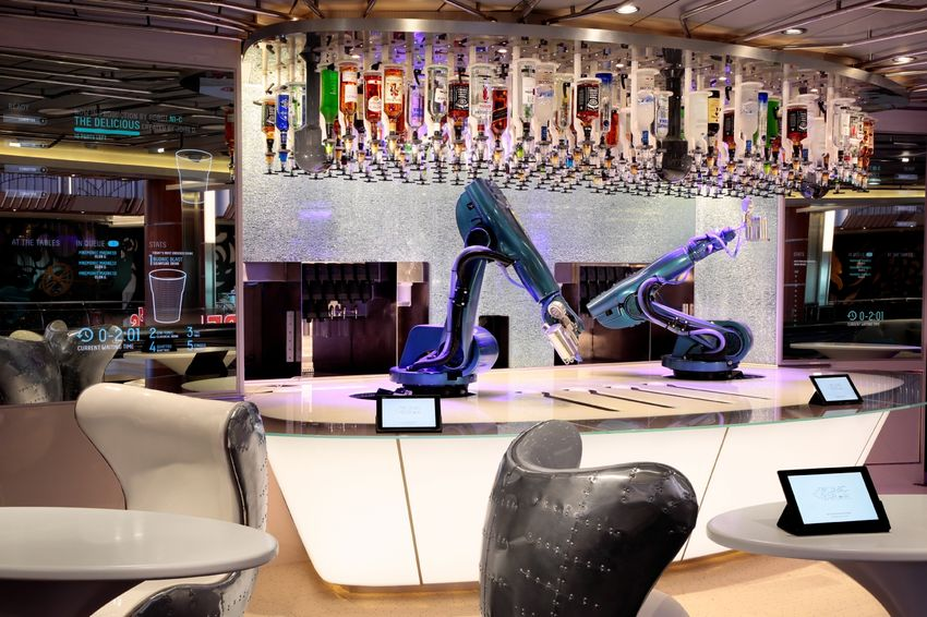 Royal Caribbean International Quantum of the Seas Interior Bionic Bar.jpg