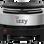IZZY Ηλεκτρικό Μάτι Inox 500 W (222891)