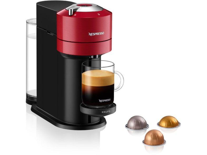 KRUPS Nespresso® Vertuo Next C XN9105S Καφετιέρα Cherry Red