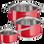 TEFAL Σετ 2 χύτρες βαθιές και κατσαρολάκι γάλακτος Intuition (B 90353 )