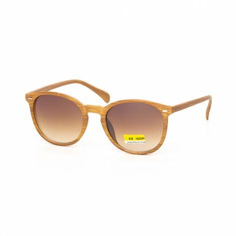Ανδρικά καφέ γυαλιά ηλίου ξύλινο μοτίβο natural
